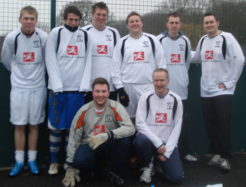 Our 6-a-side football team